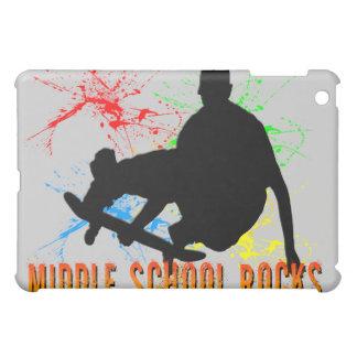 Middle School Rocks - Skateboarder  iPad Mini Cover
