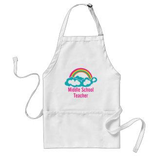 Middle School Teacher Adult Apron