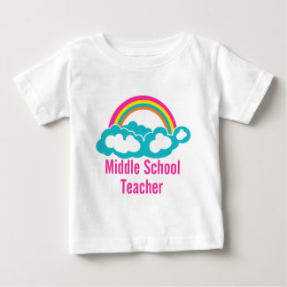 Middle School Teacher Baby T-Shirt
