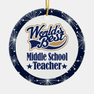 Middle School Teacher Gift Ornament