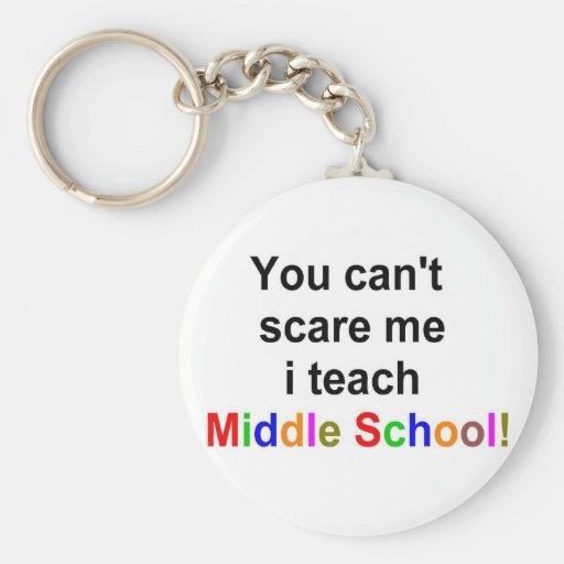 Middle school teacher key chain