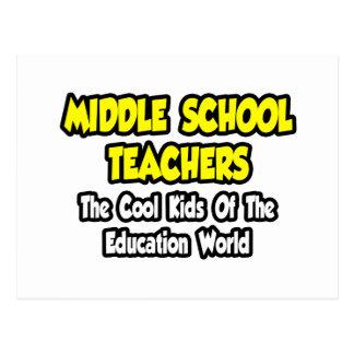 Middle School Teachers...Cool Kids Post Cards