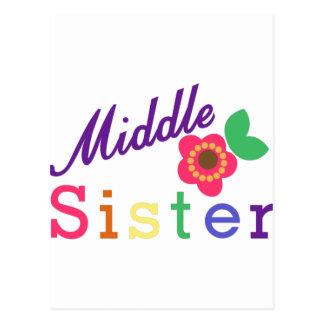 Middle Sister Postcard