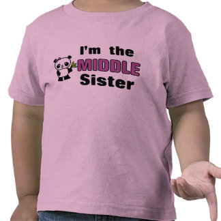 middle sister t shirts shirts and custom middle sister. Black Bedroom Furniture Sets. Home Design Ideas