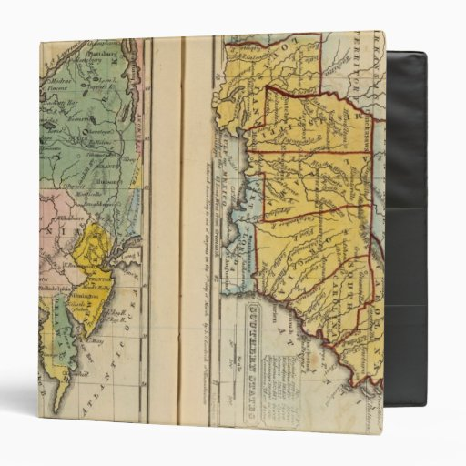 Middle & Southern States 3 Ring Binder