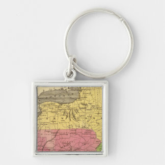 Middle States 3 Key Chain
