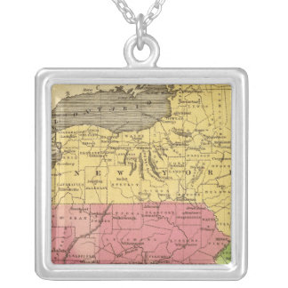 Middle States 3 Silver Plated Necklace