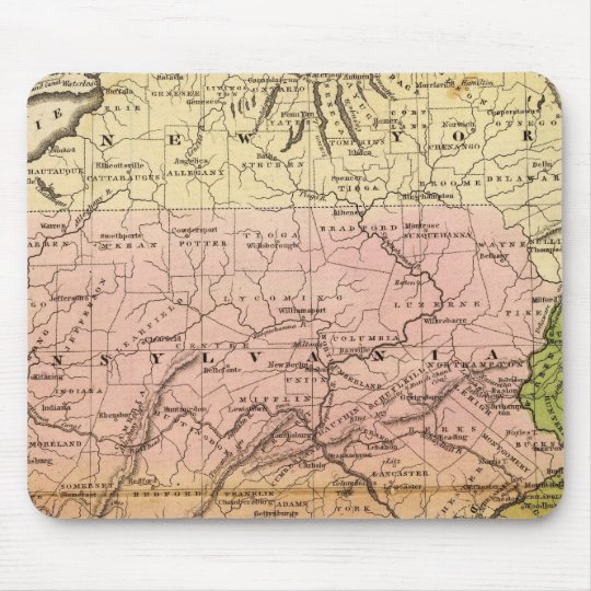 Middle States Mouse Pad