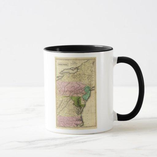 Middle States Olney Map Mug