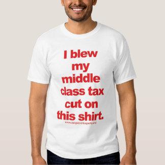 middle tax cut? tee shirts