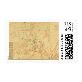 Middle Tennessee Campaign Postage Stamp