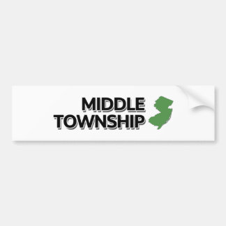 Middle Township, New Jersey Bumper Sticker