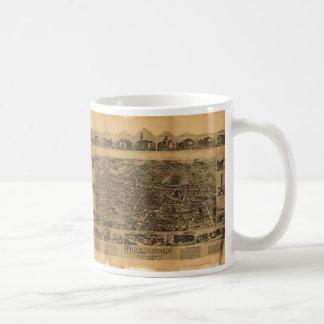 Middleborough Massachusetts (1889) Coffee Mug