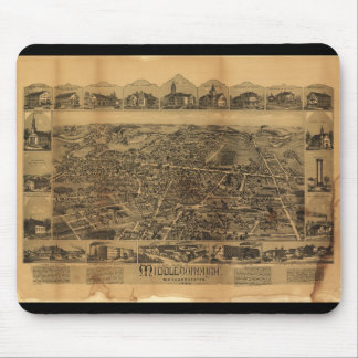 Middleborough Massachusetts (1889) Mouse Pad