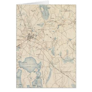 Middleborough, Massachusetts Card