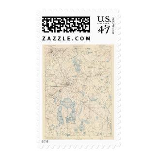 Middleborough, Massachusetts Postage Stamp