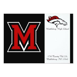 Middleburg High School Grad. announcement