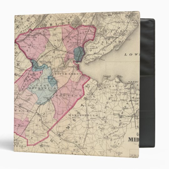 Middlesex County, NJ 3 Ring Binder
