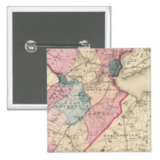 Middlesex County, NJ Pinback Button