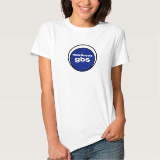 Middlesex GBS Logo Babydoll Tee Shirt