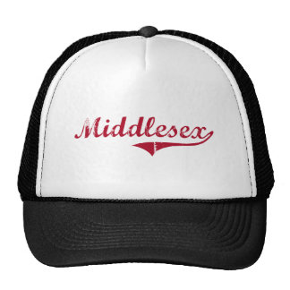 Middlesex New Jersey Classic Design Trucker Hats