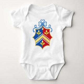 Middleton Coat of Arms / Middleton Family Crest Baby Bodysuit