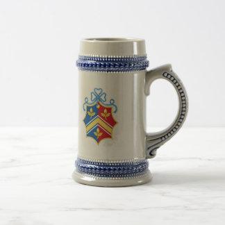 Middleton Coat of Arms / Middleton Family Crest Beer Stein