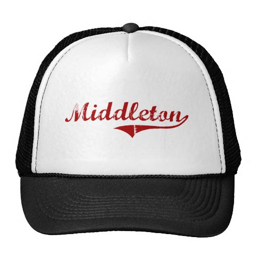 Middleton Massachusetts Classic Design Trucker Hat