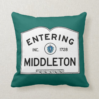 Middleton que entra cojín decorativo