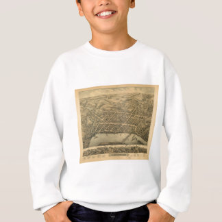 Middletown Connecticut in 1877 Sweatshirt