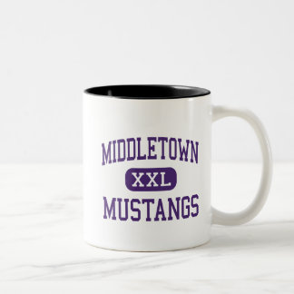 Middletown - Mustangs - High - Middletown Two-Tone Coffee Mug