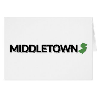 Middletown, New Jersey Card