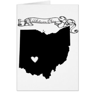 Middletown Ohio Card