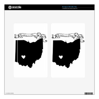 Middletown Ohio Kindle Fire Decal