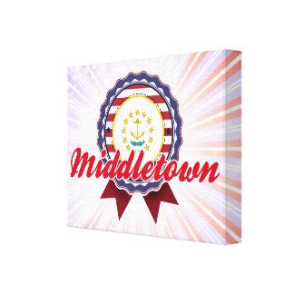 Middletown, RI Impresión En Lona Estirada