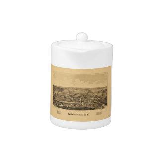 Middleville New York (1890) Teapot