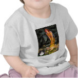 MidEve - Am SH black and white cat T-shirt