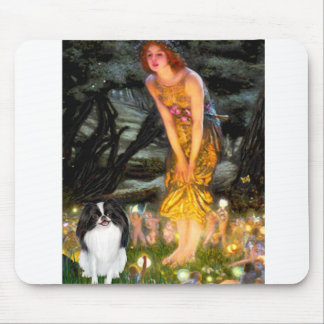 MidEve - Japanese Chin 3 Mouse Pad