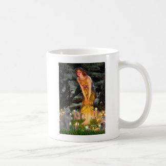 MidEve - russian Blue cat Coffee Mug