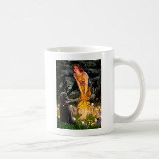 MidEve-Standard Black Poodle (T) Coffee Mug