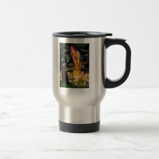 MidEve-Standard Black Poodle (T) Travel Mug