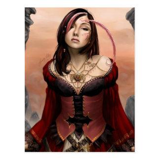 Midevil Mistress Postcard