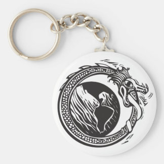 Midgard Serpent and Earth Key Chains