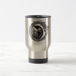 Midgard Serpent and Earth Travel Mug