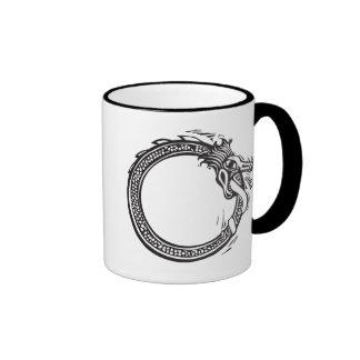 Midgard Serpent Ringer Mug