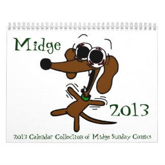 Midge 2013 'Sunday Comics' Calendar