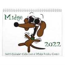 Midge 2022 'Sunday Comics' Calendar