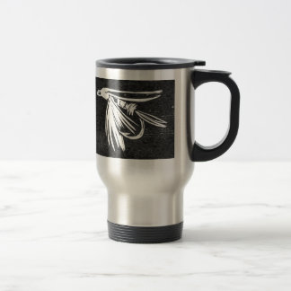 """Midge - Cruel Trout"" Fly Fishing Mug"