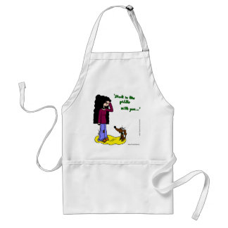 """Midge """"Stuck In The Piddle With You"""" Apron"""