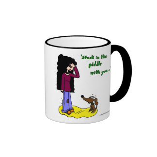 """Midge """"Stuck In The Piddle With You"""" Mug"""